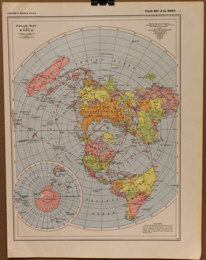 FLAT EARTH MAPS THE FLAT EARTH