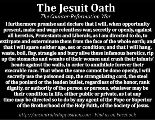 THE JESUIT OATH EXPOSED